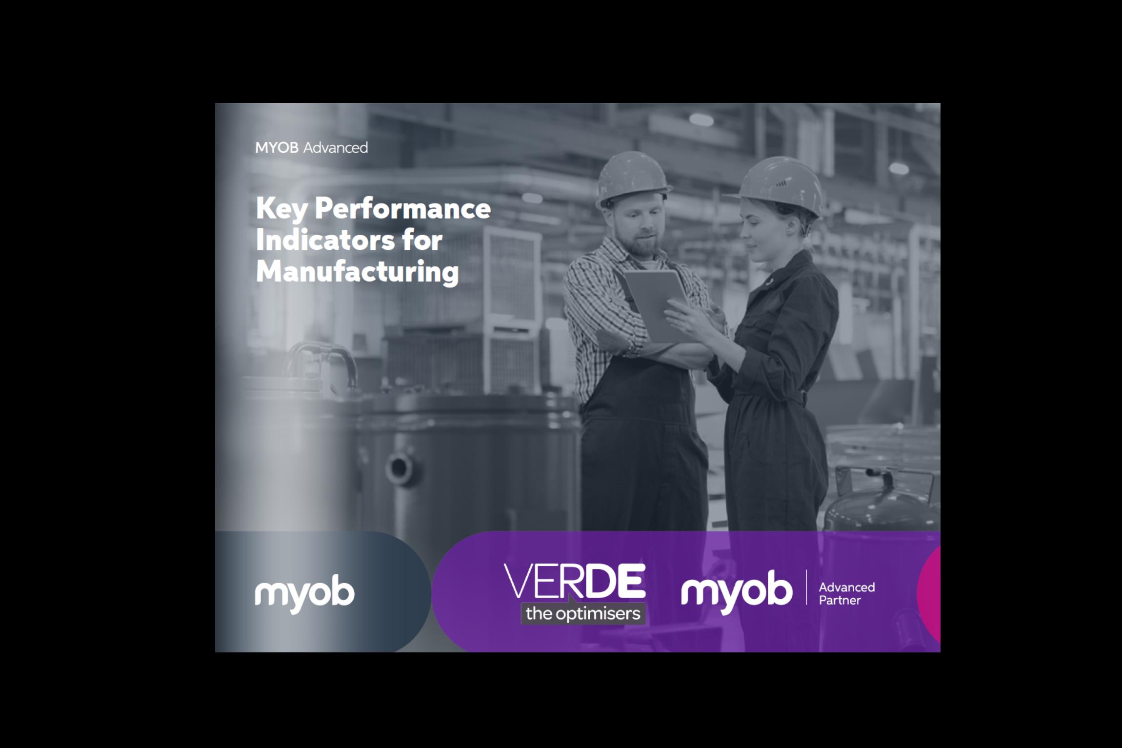MYOB Manufacturing